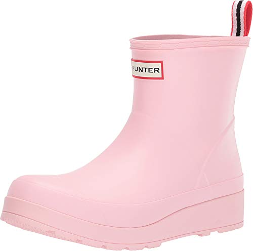 HUNTER Damen Gummistiefel Play rosa 39 (Rosa Frauen Stiefel Hunter)
