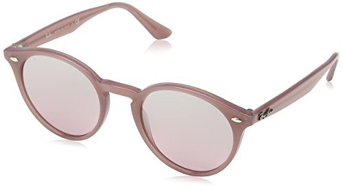 Ray-Ban MOD. 2180 SUN, Gafas de Sol Unisex, Rosa (Opal Antique Pink), 51 mm