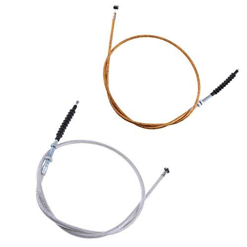FLAMEER Bremsbeläge Kupplungsscheiben Universal Klappmesser Motorrad-Kupplungsseil Kabel Bremsbeläge