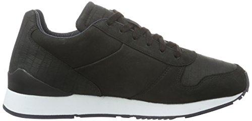 Lacoste L!ve, Trajet, Sneaker Donna Nero (BLK/NVY)