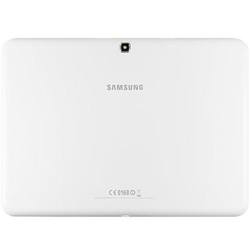 Original Samsung Akkudeckel White/weiß für Samsung T530, T535 Galaxy Tab 4 10.1 (Akkufachdeckel, Batterieabdeckung, Rückseite, Back-Cover) - GH98-32761B