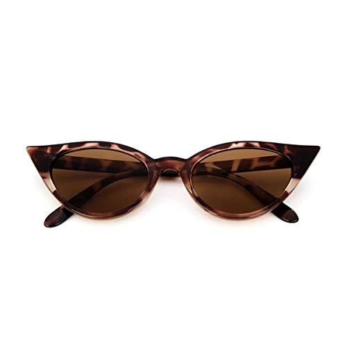 Gugutogo Vintage Cat Eye Women Sunglasses Classic Sexy Sun Glasses Ladies PC Frame Resin Lens Travel UV400 Eyewear Glasses