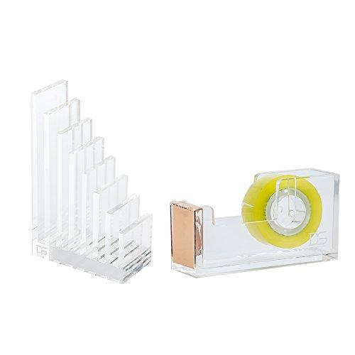 draymond-historia-acrlico-suministros-de-oficina-bundle-1-archivo-organizador-1-papelera-de-escritor