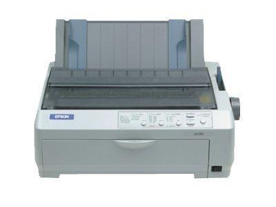 Epson LQ-590 - Nadeldrucker (254 x 559 mm, 658 CPS, 4.23 mm, 6 Copies, Code 39,POSTNET,UPC-A,UPC-E, Bi-Direction)