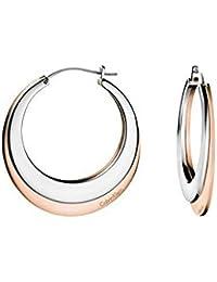 Calvin Klein Pendientes de aro Mujer acero inoxidable - KJ3DPE200100
