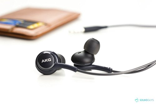 AKG Samsung Earphones S8 / S9 / S10 / Note 10 Compatible with All Units. (S10 (Black)(with Protective Case)) Image 2