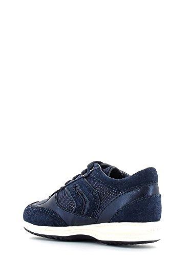Geox , Chaussures de ville à lacets pour fille Bleu - Navy