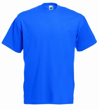 Fruite of the Loom Valueweight T-Shirt, vers. Farben S,Royal Blau (Royal T-shirt S/s)