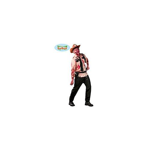 POLIZIST Kostüm Zombie TYPE WALKING DEAD