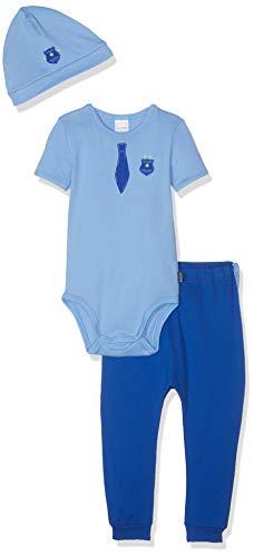 Schiesser Polizei Baby Jungs Unterwäsche-Set, Mehrfarbig (Sortiert 1 901), 86 (Herstellergröße: 086) (3erPack)