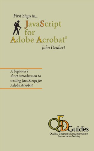 first-steps-in-javascript-for-adobe-acrobat-english-edition