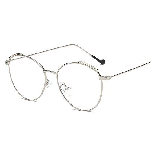 Unisex-polarisierte Sonnenbrille Persönlichkeits-Korn-Flache helle Feder-Glasrahmen-allgemeine Computerschutzbrillen-Männer und Frauen UV400 Sonnenbrillen