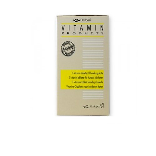 Diafarm Vitamin C Hund & Katze - 90 Tabletten