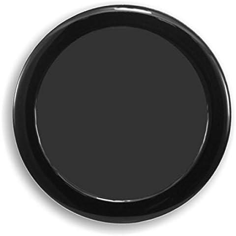 Filtro de polvo DEMCiflex Ronda 92mm - negro / negro