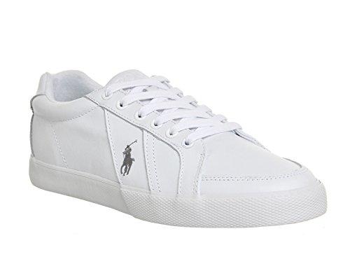 Polo Ralph Lauren Hugh Homme Baskets Mode Blanc
