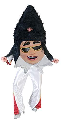 Karneval-Klamotten Elvis Kostüm Herren 50er Jahre Herrenkostüm Einheitsgröße (Elvis Halloween-kostüme Baby)