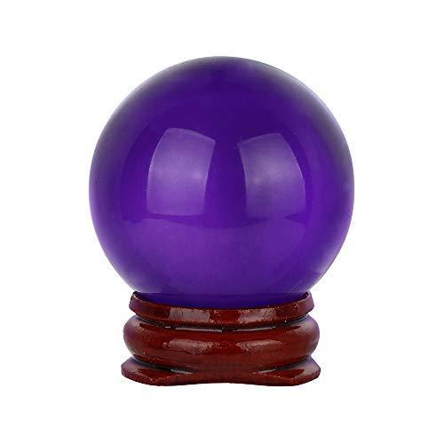 TianranRT Heiss. 40mm Naturales Cuarzo Magia Cristal Bola Bola de curación y...
