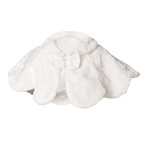 Kids Girls Princess Furry Shrug Shoulder Cape Soft Wedding Holy Communion Shawl Wraps Capelets Dress Coats Cloak, Christmas Gift