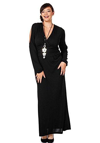 Sheego - Robe - Femme Noir