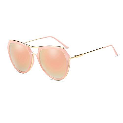 Thirteen Sonnenbrille Frauen Bunte Polarisierte Sonnenbrille Frauen Gesicht Brille UV-Schutz Vor Blendung, Verwendet Für Dekoration, Reisen, Fahren. (Color : Pink)