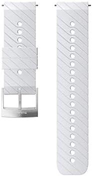 SUUNTO ATH3 SILICONE STRAP WHITE/STEEL M