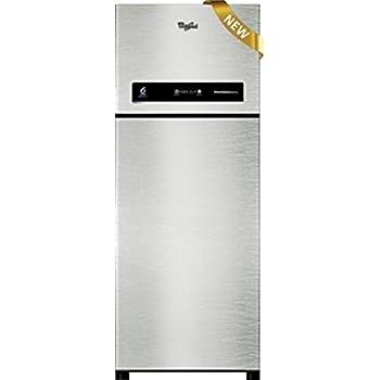 Whirlpool 360 L 4 Star Frost-Free Double Door Refrigerator (PRO 375 ELT 4S, Alpha Steel)