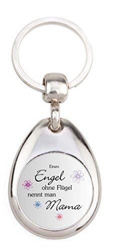 GX-010 - Engel ohne Flügel nennt man Mama - mit Einkaufswagenchip in Magnethalterung (Engel Flügel Zubehör)