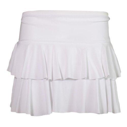 Ra Tu Tu Mini-Rock aus der Paty-Wear Damen-Kostüm Rock passt Gr. 34 bis 40 Gr. S/M, Weiß - Weiß (M & M Party Kostüme)