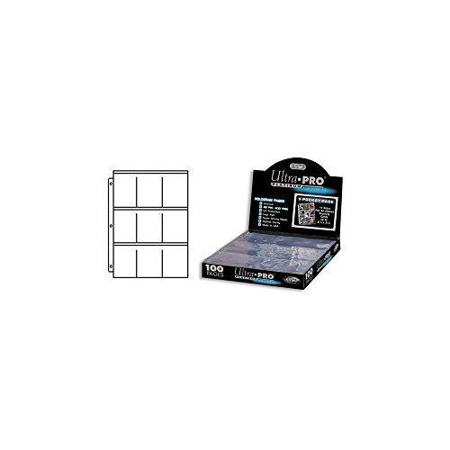 Ultra Pro Platin 9-Hologramm Seiten (100 Stk.) 11er-Lochung