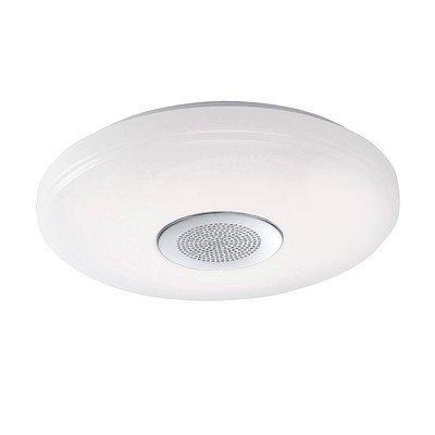 LED Decken Lampe Fernbedienung Bluetooth Lautsprecher CCT Beleuchtung dimmbar Paul Neuhaus 8080-16