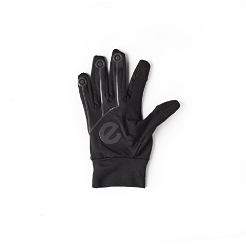 Eglove Sport Black / Black (Medium) Touchscreen Smartphone Gloves (Männer Fitness Magazin)