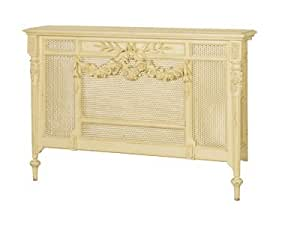 maine chateau small radiator cover french shabby chic. Black Bedroom Furniture Sets. Home Design Ideas