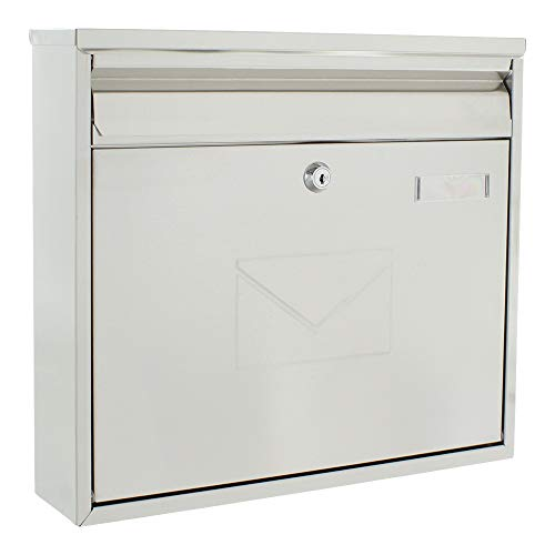 Briefkasten mit Einwurf vorne und hinten
