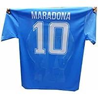 3c2eb0da4b9a3 New t-Shirt Maglia Azzurra Stampata Mars ricordo Napoli Maglietta Maradona  Omaggio Portachiavi