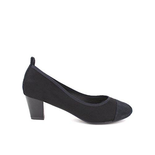Cendriyon, Escarpin simili peau noir CINK MODA Chaussures Femme Noir