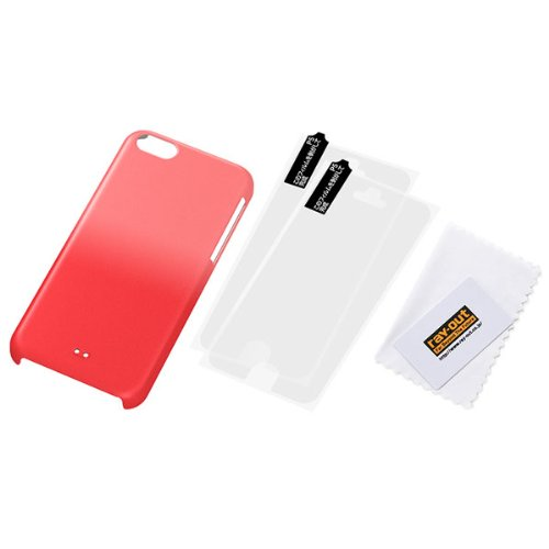 Graduation Color Coque rigide pour iPhone 5C (Rouge/rose)