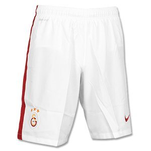 2014-2015 Galatasaray Away Nike Football Shorts (Kids) White
