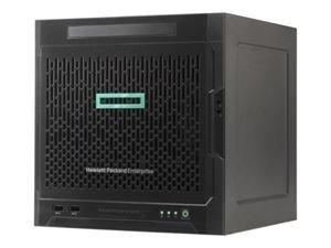HPE ProLiant MicroServer Gen10 X3421, 16 GB-U, 4LFF, nicht Hot-Plug-fähig, SATA, 200-W-Netzteil, Hochleistungsserver 1J VOS