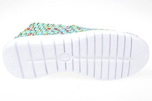 gibra, Sneaker donna Multicolore (mint/rot)