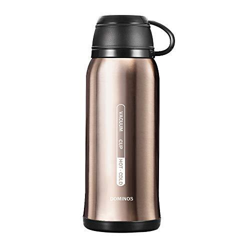 Y·J&H Vakuum Isolierte Edelstahl Trinkflasche, Wasserflasche Doppelwandig