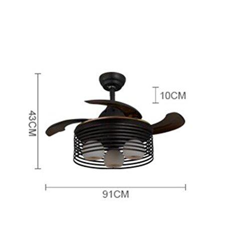 Ventilatore Luci Soggiorno Sala da pranzo imitazione del retro ferro ...