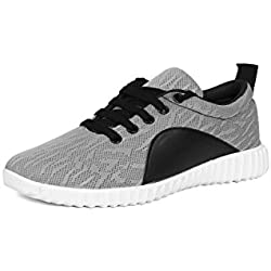 Beonza Women Grey Running Sports Shoes-BZRVL035-GREYSPORTS_6