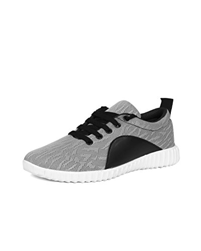 BEONZA Women Grey Running Sports Shoes
