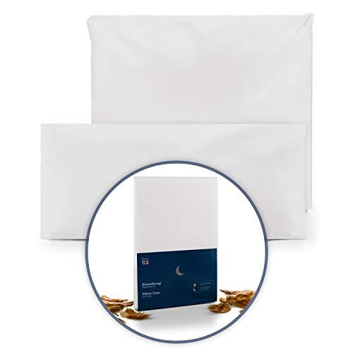 Blumtal Kopfkissen o. Bettdecken Milbenbezug für Allergiker - Kissen-Bezug Anti-Milben, waschbar, 40x80 cm, 2er Set