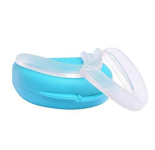 4 x Férula Dental Placa de Descarga Nocturna Protector Bucal para dormir anti Bruxismo Rechinar los dientes e los Trastornos del ATM - VA25