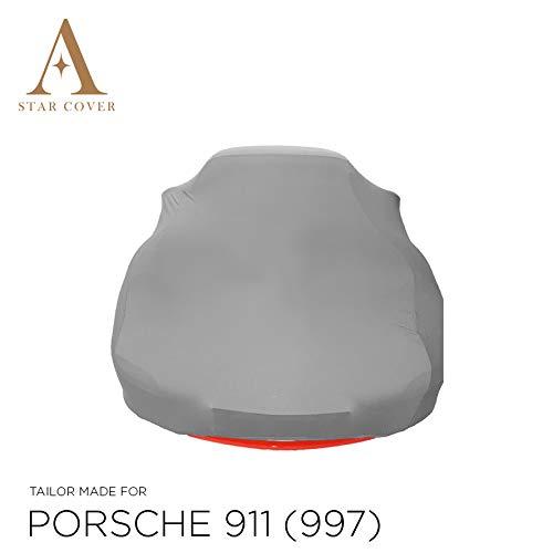 Star Cover AUTOABDECKUNG GRAU Porsche 911 (997) SCHUTZHÜLLE ABDECKPLANE SCHUTZDECKE