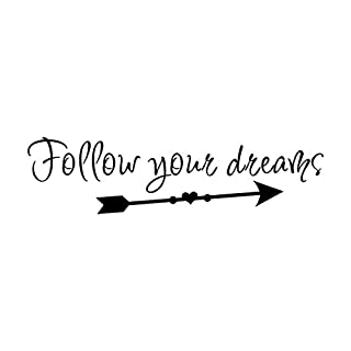 Wall Stickers,Diadia Vinyl Wall Sticker DIY Art Wall Decor Home Decor Kids Room Bedroom Decor Living Room -Follow Your Dreams