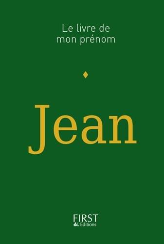 Le Livre de mon prénom - Jean
