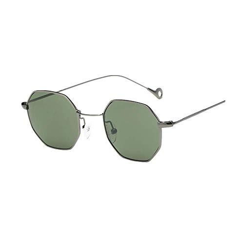 VRTUR Katzenauge Metall Rand Rahmen Damen Frau Mode Sonnebrille Gespiegelte Linse Women Sunglasses...