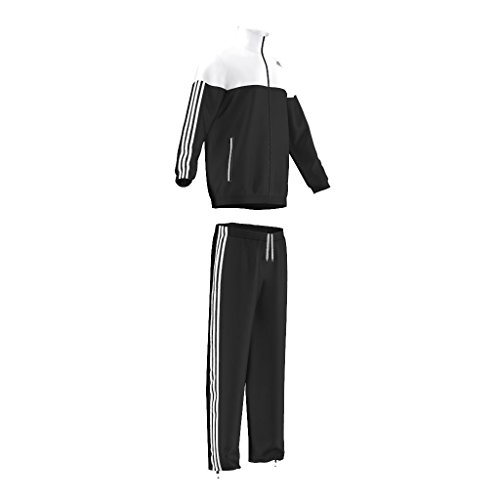 adidas Damen Trainingsjacke Iconic Men' Mehrfarbig schwarz/weiß Size 198 Nike Performance Hoody